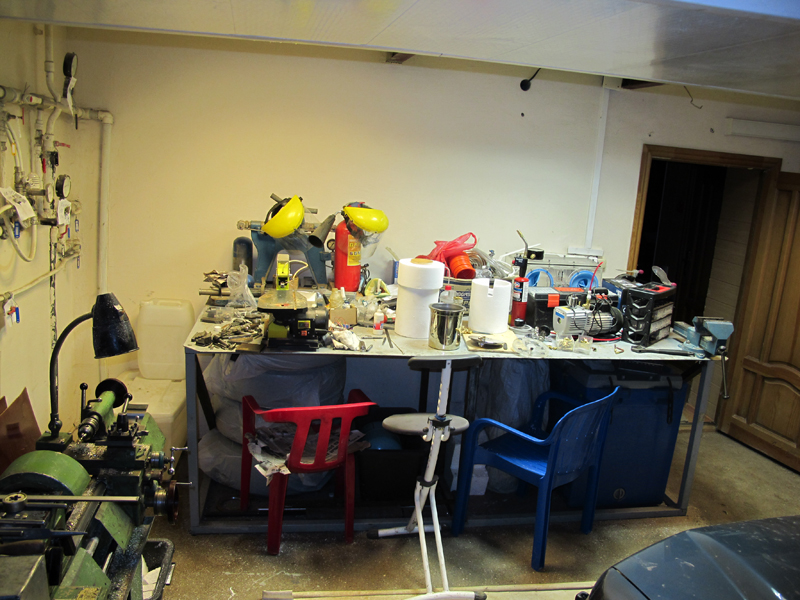 Our metalwork workshop